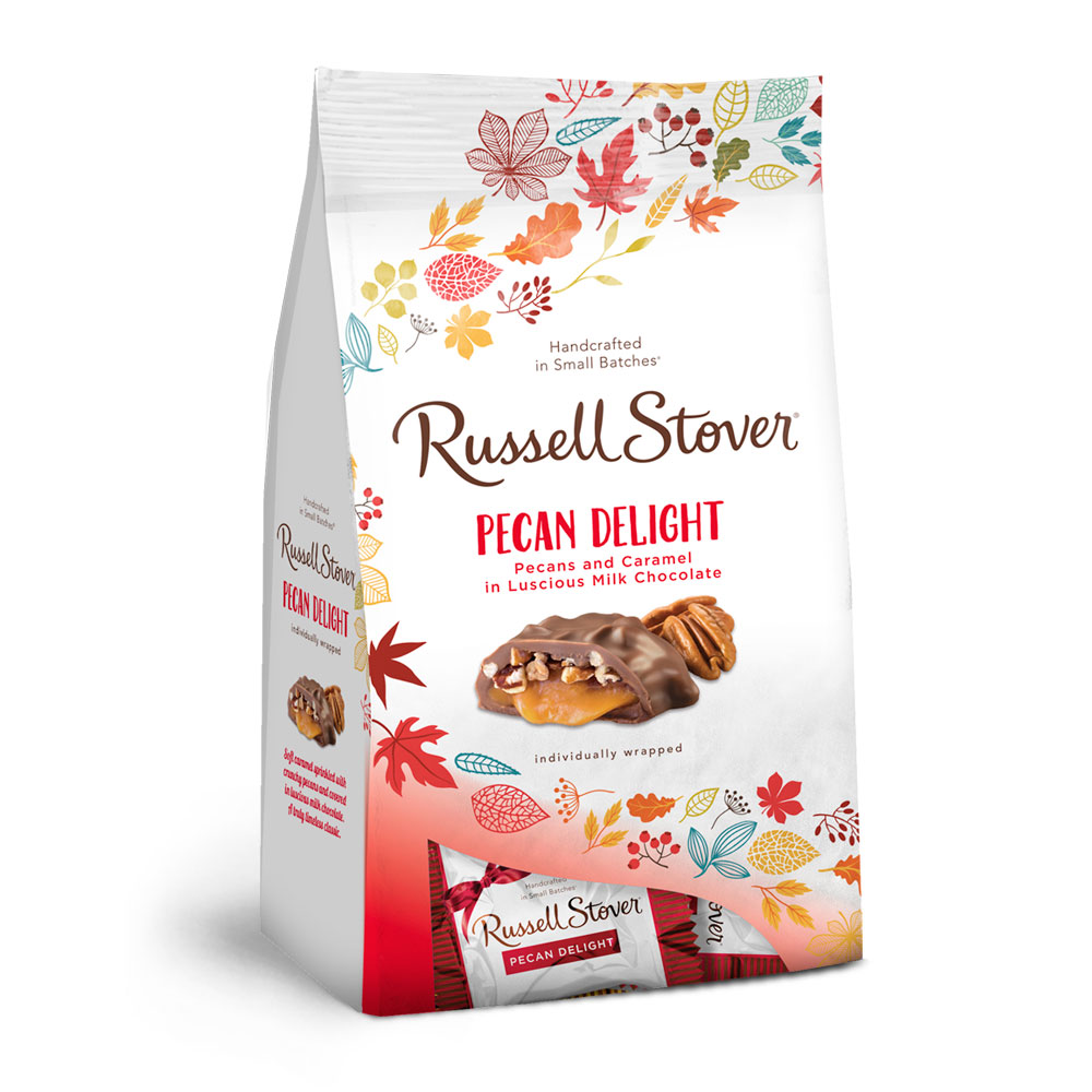 Russell Stover Chocolates coupon: Fall Milk Chocolate Pecan Delight Favorites, 5.4 Oz. Bag | Chocolates | By Russell Stover