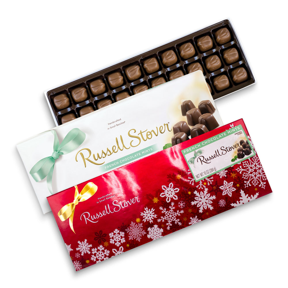Image for Milk Chocolate French Chocolate Mints, 10 oz. Box from Russell Stover