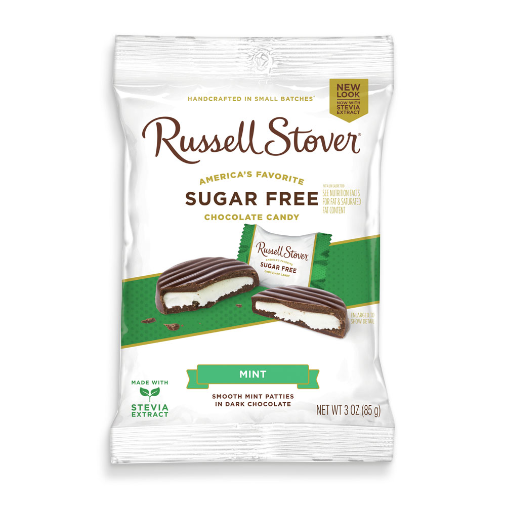 http://www.russellstover.com/ - Sugar Free Mint Patties, 3 Oz. Bag | Mint And Cherry | Chocolates | Individually Wrapped | By Russell Stover 2.99 USD