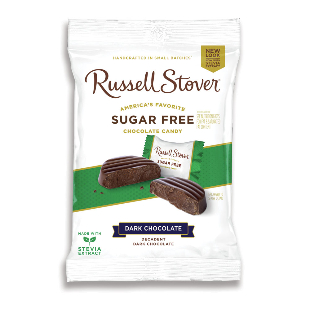 Russell Stover Chocolates coupon: Sugar Free Dark Chocolate Medallions, 3 Oz. Bag | Dark Chocolates | Individually Wrapped | By Russell Stover