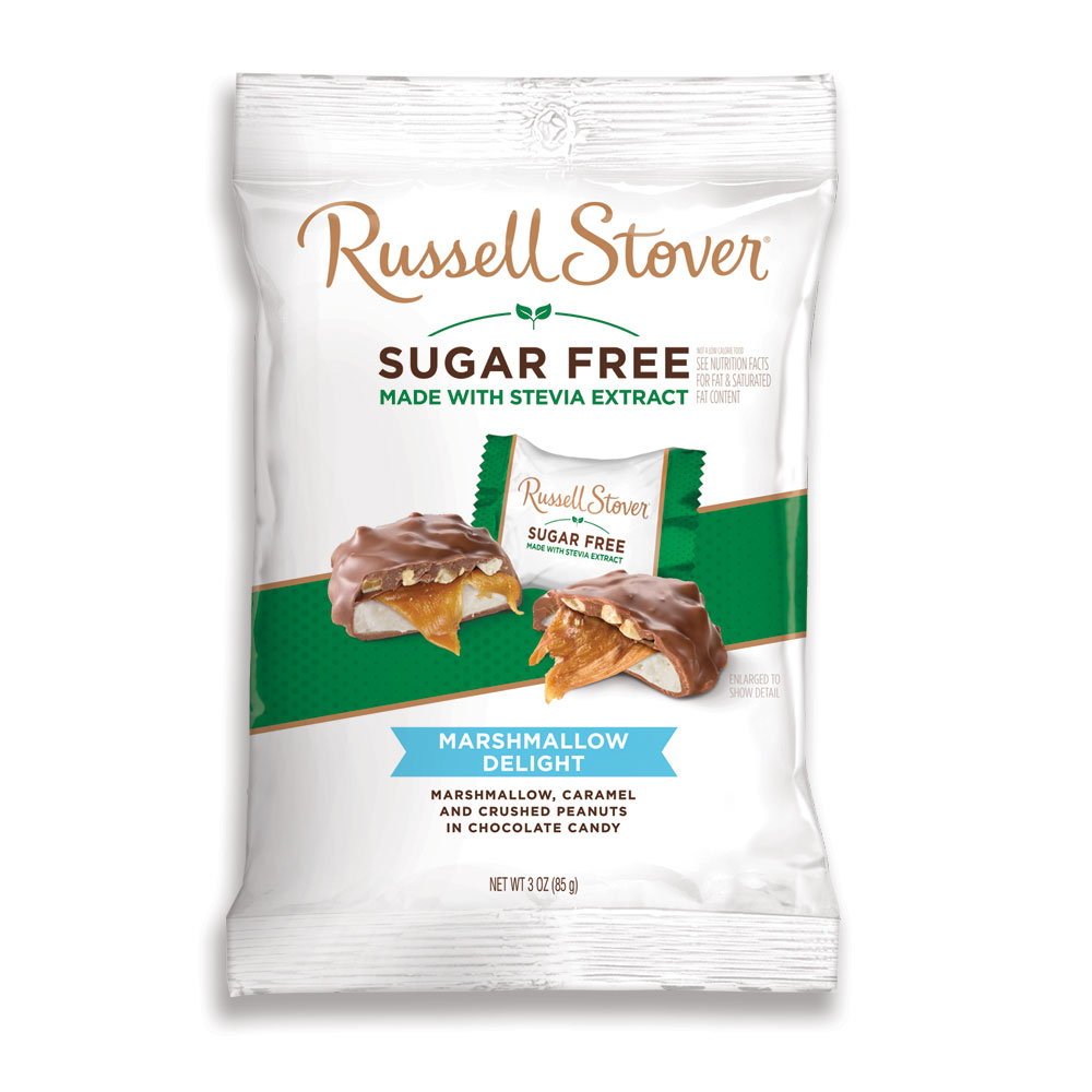 Russell Stover Chocolates coupon: Sugar Free Marshmallow Delights, 3 Oz. Bag | By Russellstover