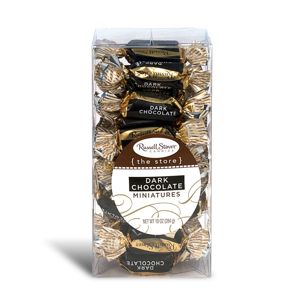 Russell Stover Chocolates coupon: Dark Chocolate Miniatures, 10 Oz. Box | Chocolates | By Russell Stover