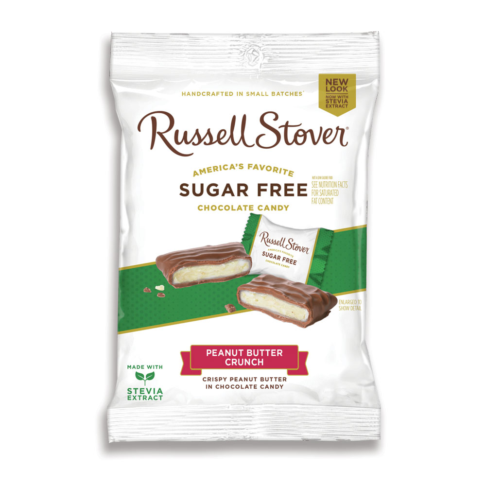 Russell Stover Chocolates coupon: Sugar Free Peanut Butter Crunch, 3 Oz. Bag | Nuts & Peanut Butter | Chocolates | By Russell Stover