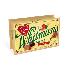 Whitman's Valentine Sampler Assorted Chocolates, 10 oz.
