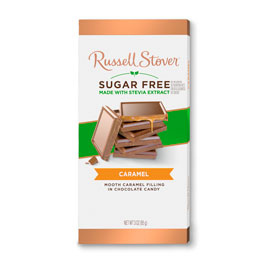 Sugar Free Milk Chocolate Caramel, 3 oz. Bar